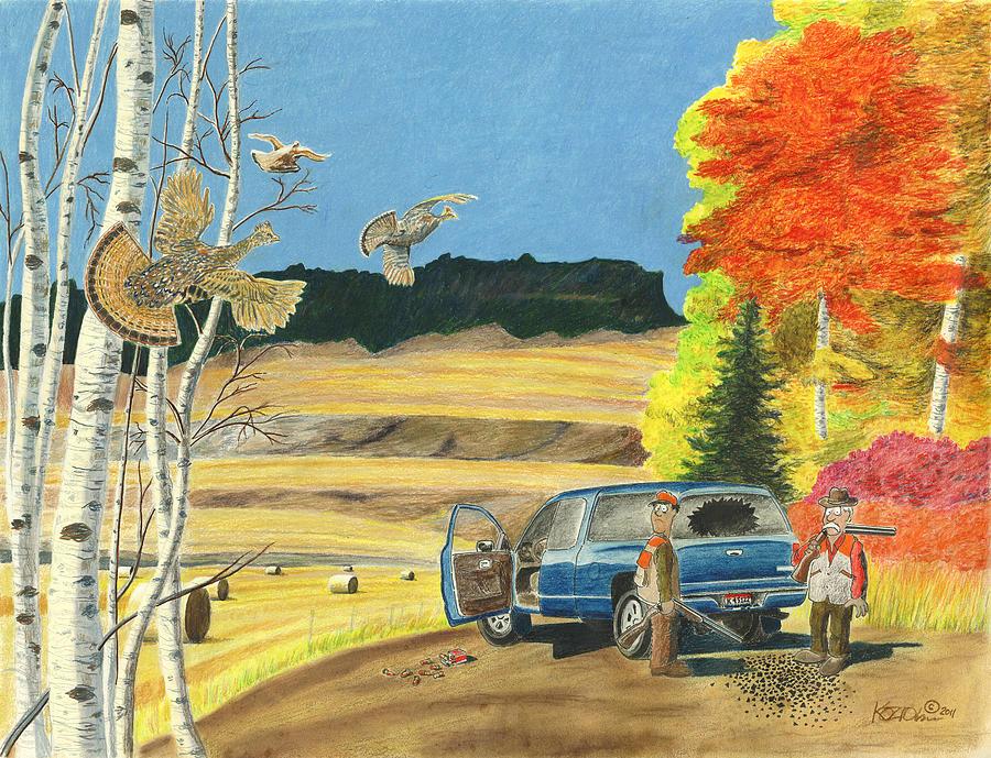 Remington Pastel - Purebreds by Tim Koziol