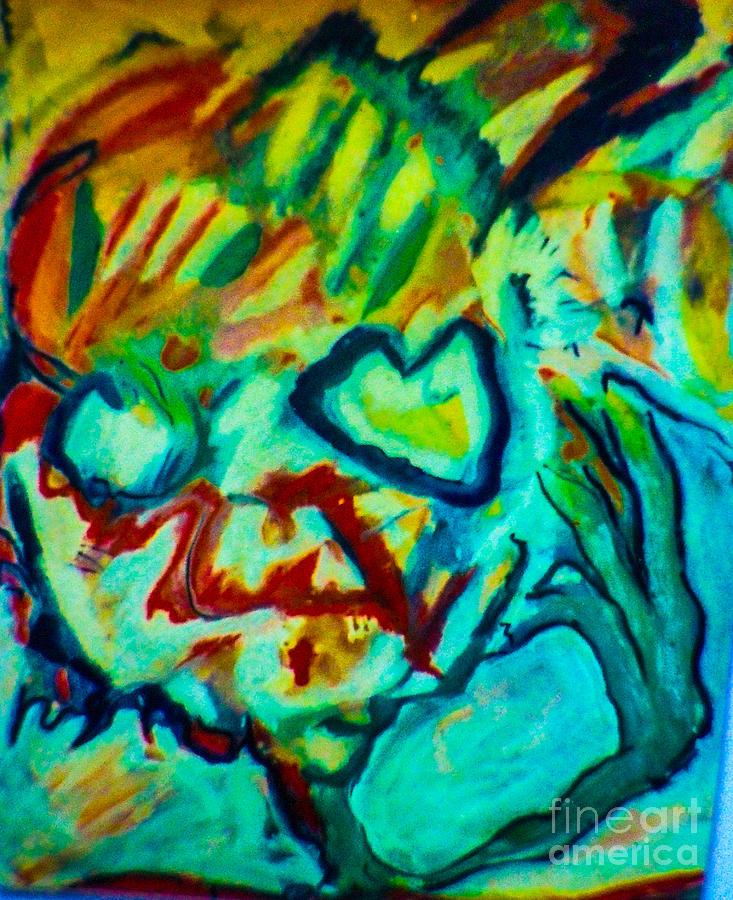 Purple People Eater Mixed Media by Bill Davis