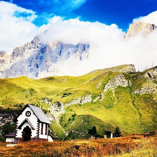 Mountain Photograph - Quando Il Cielo Incontra La by Luisa Azzolini