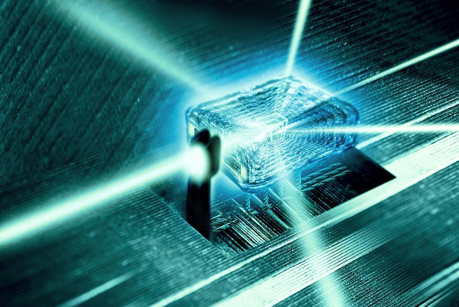 Core Photograph - Quantum Computer Core by Richard Kail