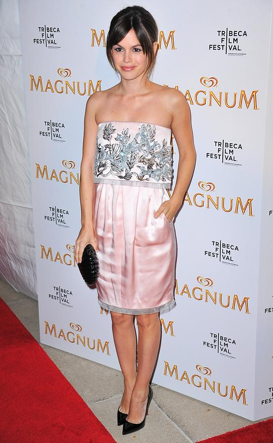 Rachel Bilson Photograph - Rachel Bilson Wearing A Chanel Couture by Everett