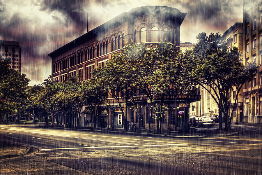 The Pickle Barrel Mixed Media - Rain Down On Me by Marc Parker
