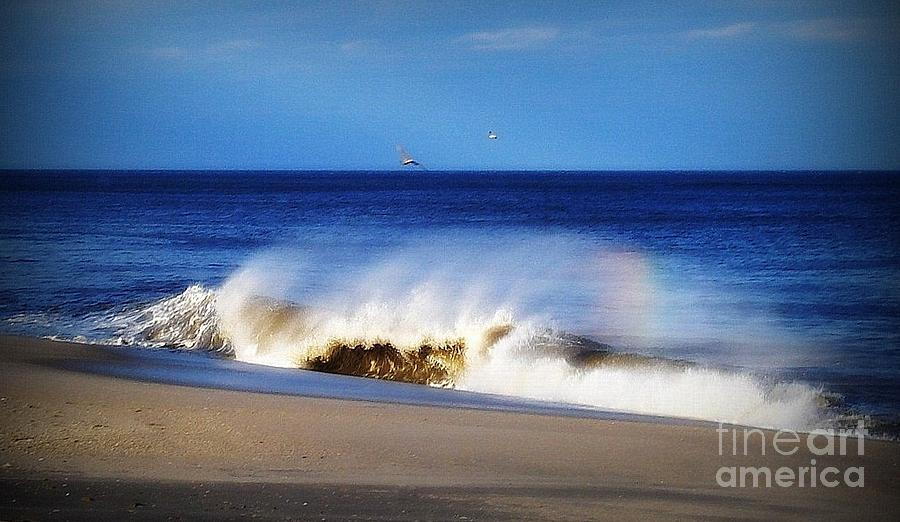 Photo Photograph - Rainbow Blue by Gladys Steele