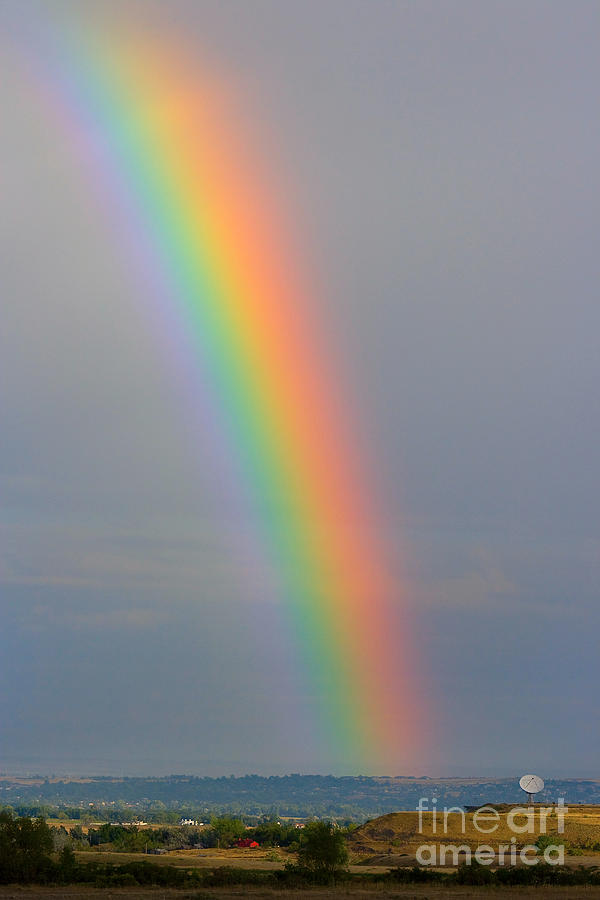 Rainbow Photograph - Rainbow Communications by James BO  Insogna