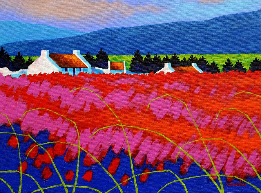Landscape Painting - Red Meadow by John  Nolan