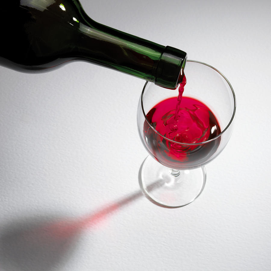 Drink Photograph - Red Wine by Mark Sykes
