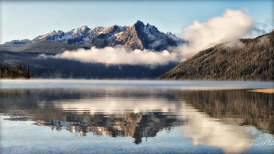 Mountains Photograph - Redfish Lake by Lisa Kidd