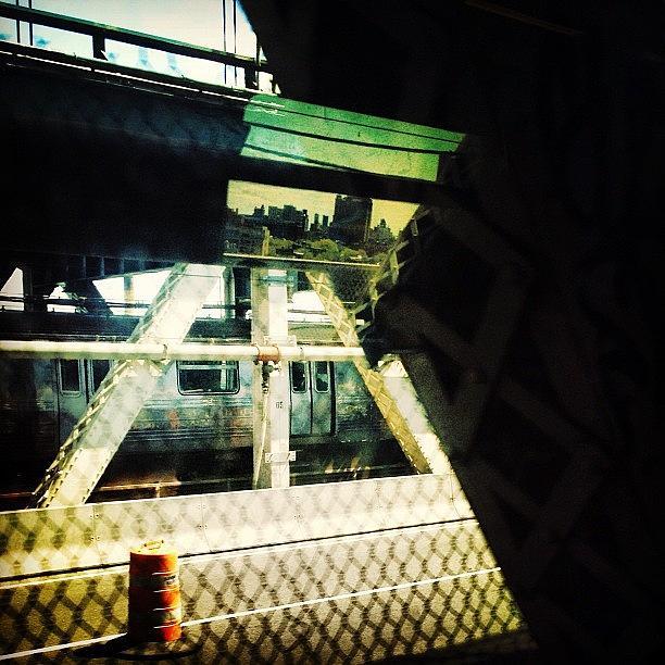 Bridge Photograph - Reflection On The Q by Natasha Marco