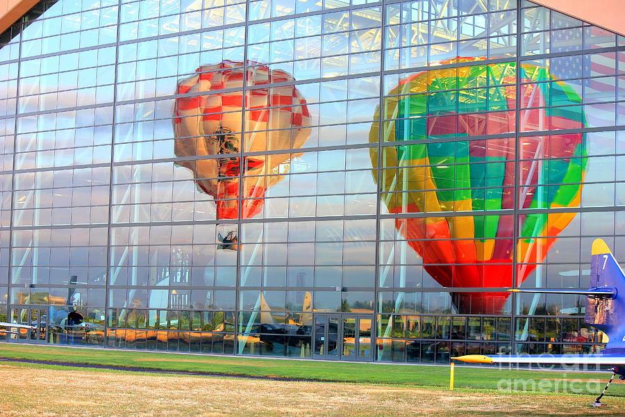 Windows Photograph - Reflections by Allen Sindlinger