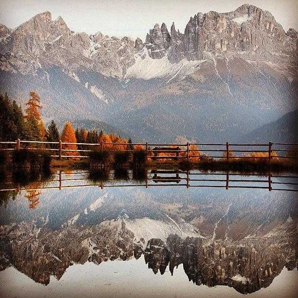 Outdoor Photograph - Reflections by Luisa Azzolini