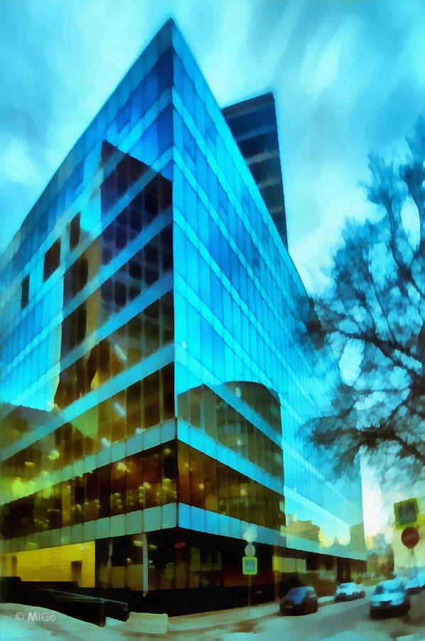 Background Photograph - Reflections by Michael Goyberg