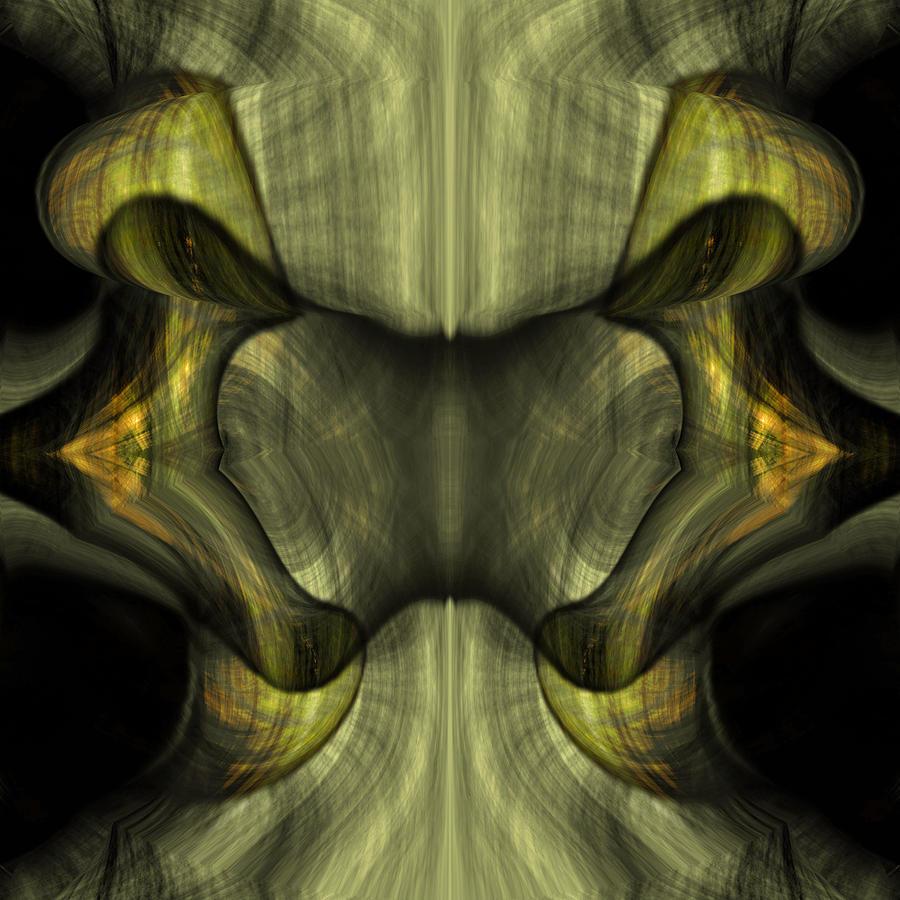 Reptilian - Green Painting