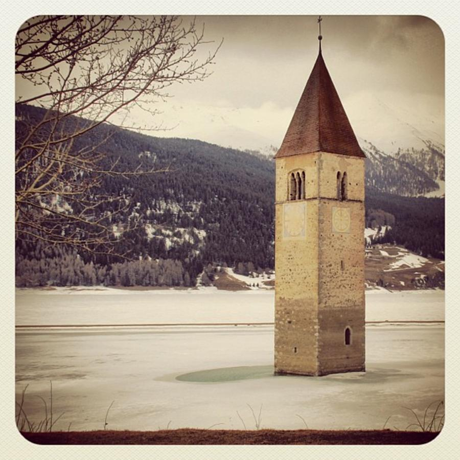 Lake Photograph - Reshen Lake by Luisa Azzolini