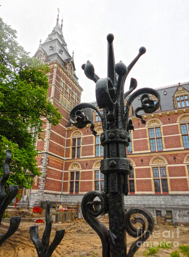 Amsterdam Photograph - Rijksmuseum- 05 by Gregory Dyer