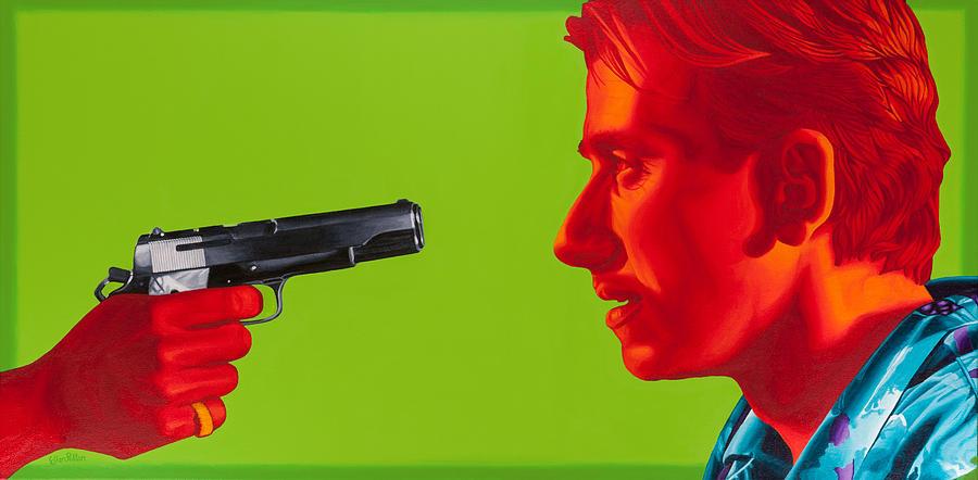 Pulp Fiction Painting - Ringo by Ellen Patton