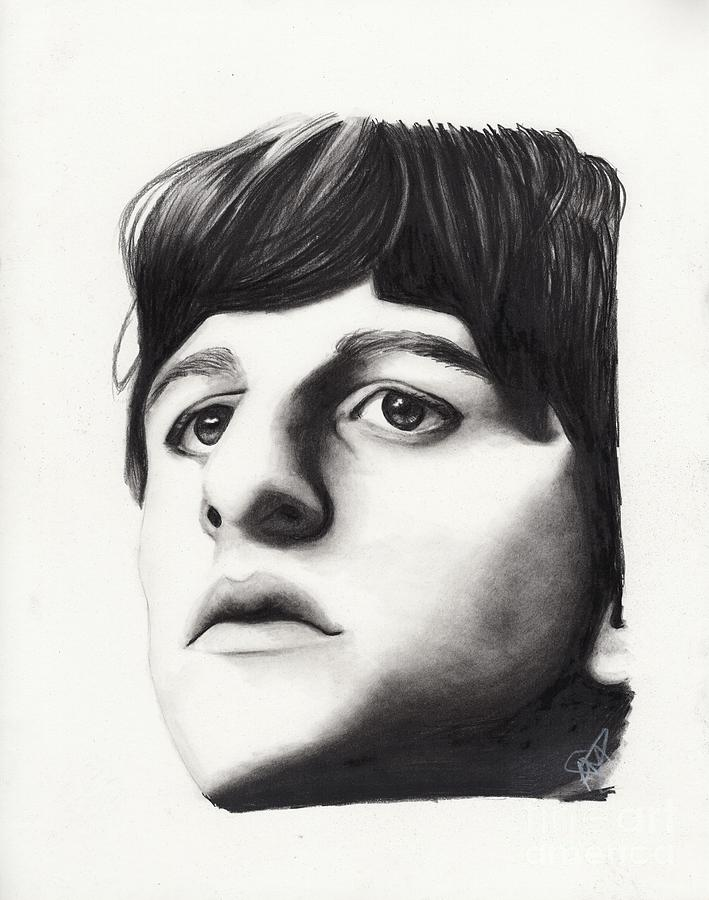 Ringo Starr Drawing By Rosalinda Markle