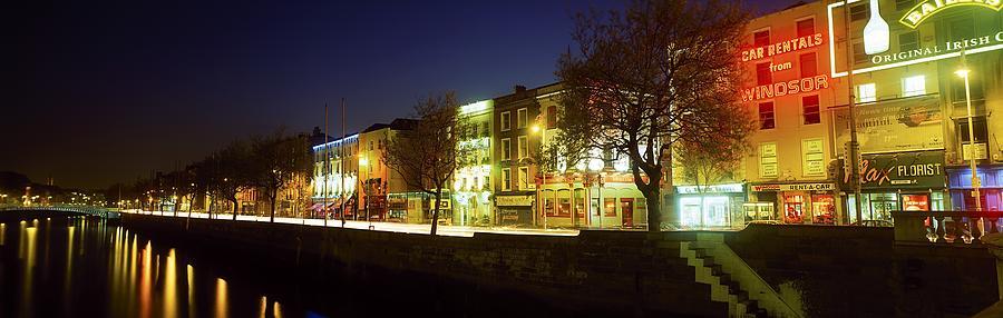 Architecture Photograph - River Liffey, Dublin, Co Dublin, Ireland by The Irish Image Collection