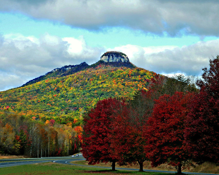 Road To Pilot Mountain Photograph By Sheila Kay Mcintyre