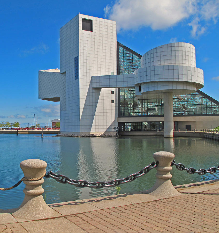 Cleveland Photograph - Rock And Roll Hall Of Fame by Dave Mills