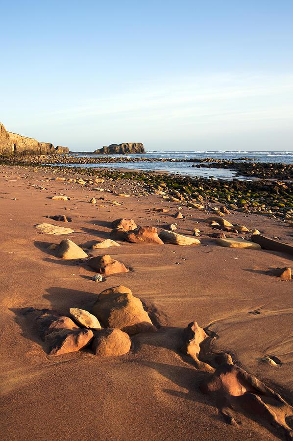 Bay Photograph - Rocks by Svetlana Sewell