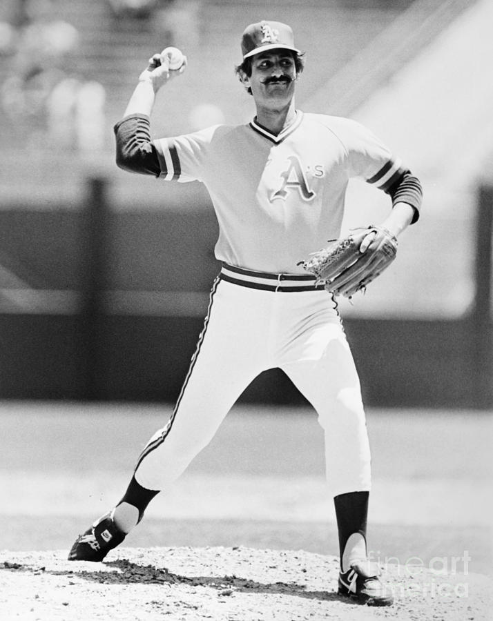 1973 Photograph - Rollie Fingers (1946- ) by Granger