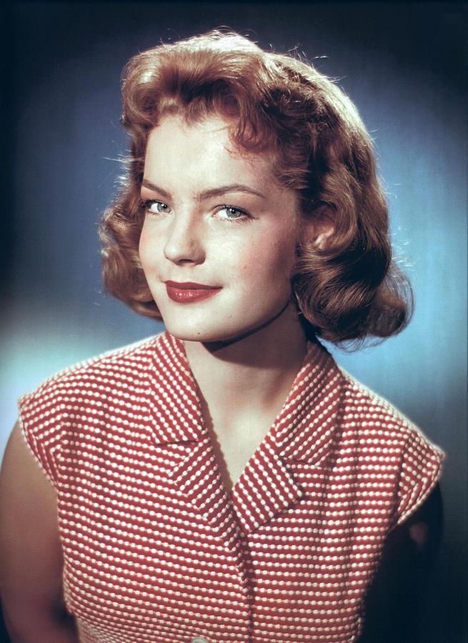 Portrait Photograph - Romy Schneider, Circa 1960 by Everett