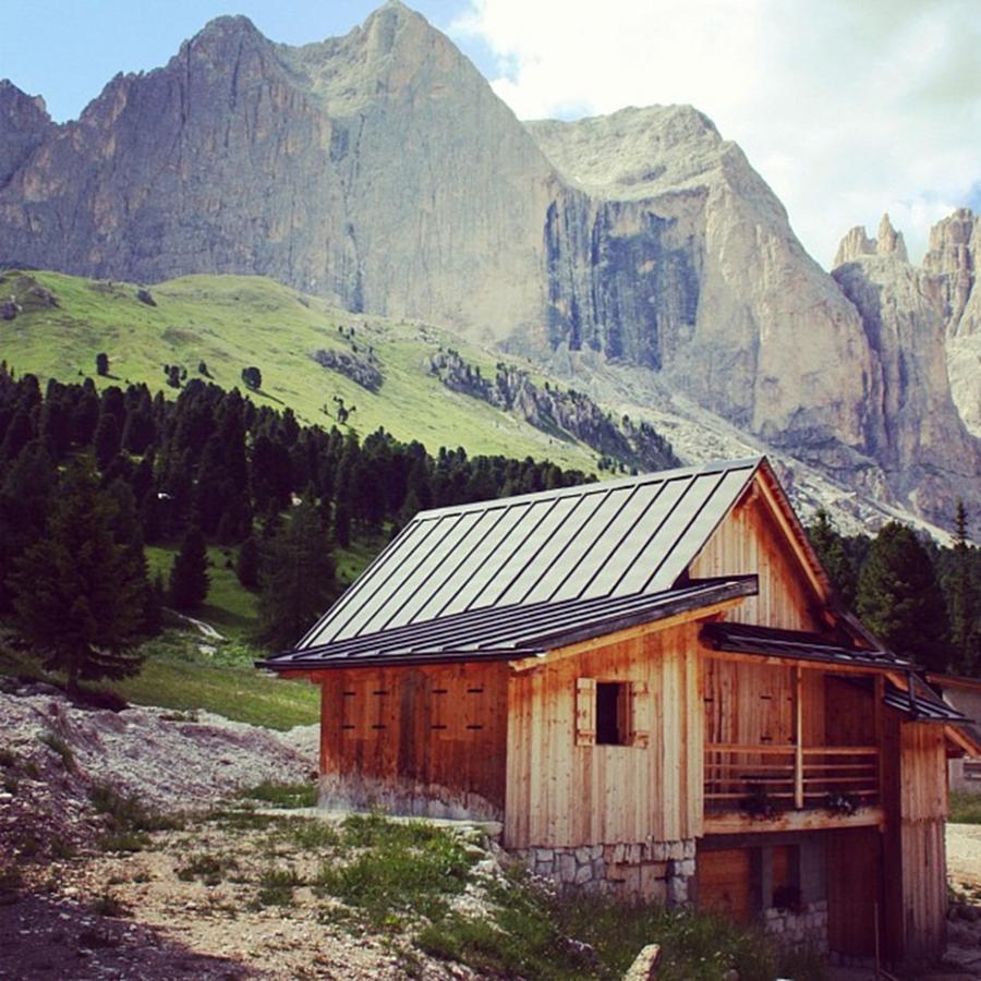 Dolomites Photograph - Rosengarten - Dolomites by Luisa Azzolini