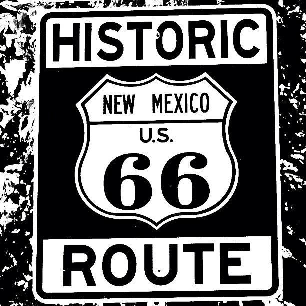 Outdoor Photograph - Route 66 by Luisa Azzolini