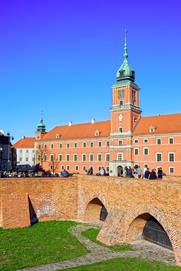Warsaw Photograph - Royal Castle In Warsaw by Artur Bogacki
