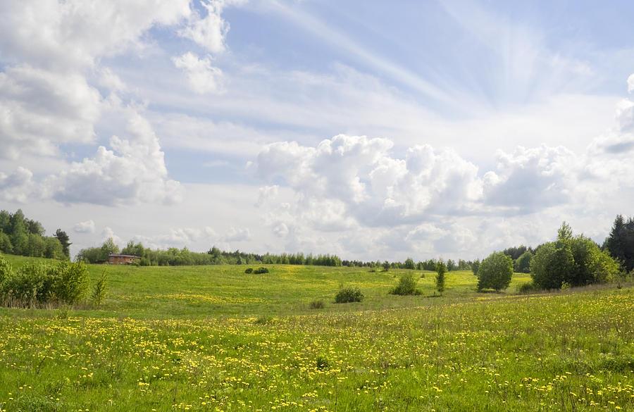 Rural Landscape Photograph By Aleksandr Volkov