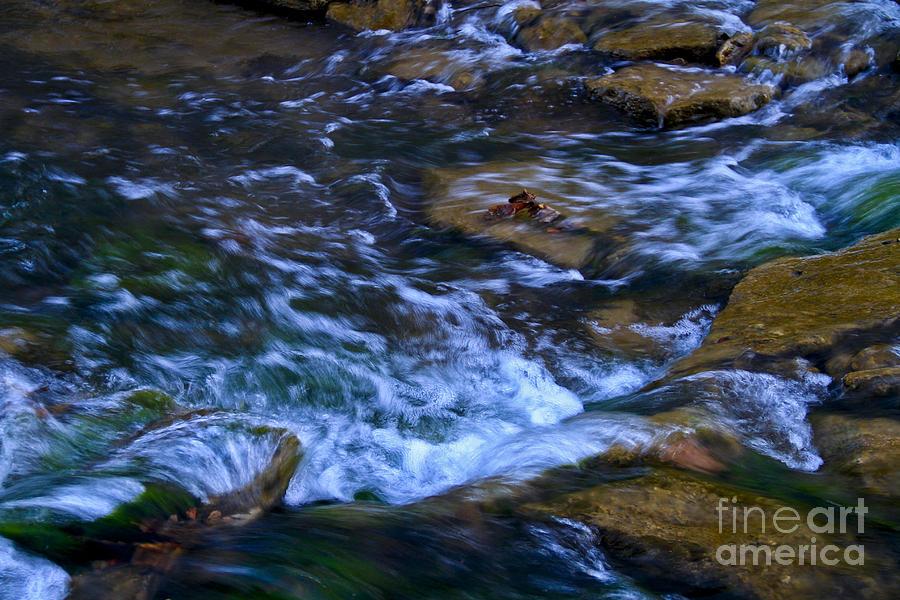 Water Photograph - Rushing Water by Royce  Gideon