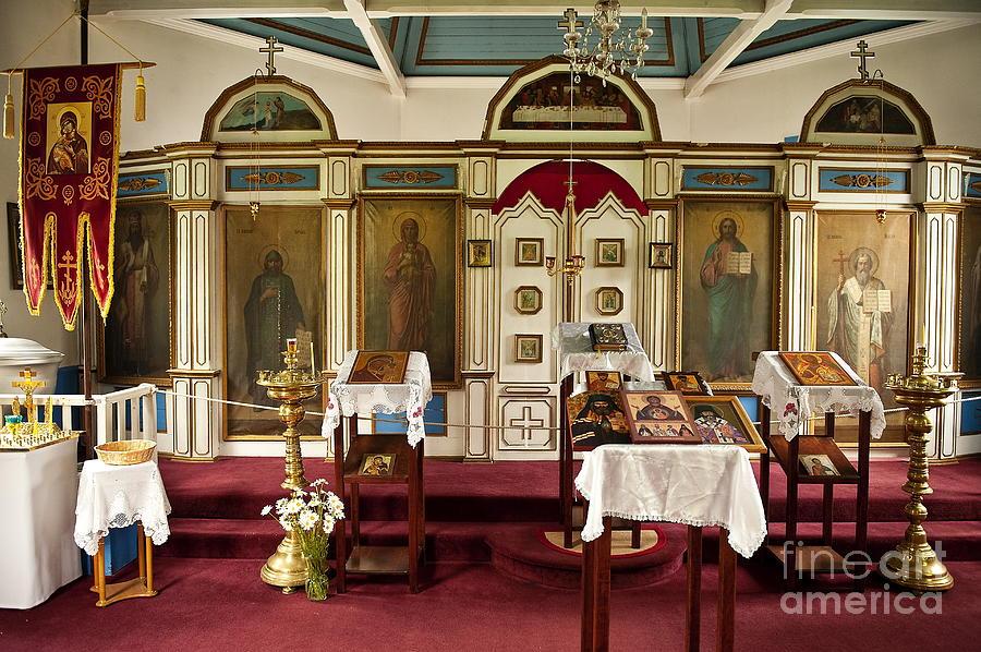Alaska Photograph - Russian Orthodox Church by John Greim