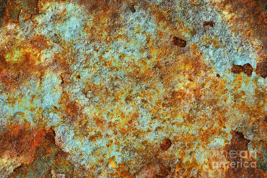 Abandoned Photograph - Rust Colors by Carlos Caetano