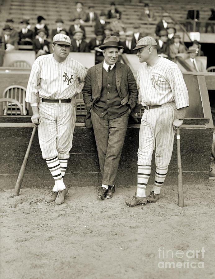 1923 Photograph - Ruth, Dunn And Bentley by Granger