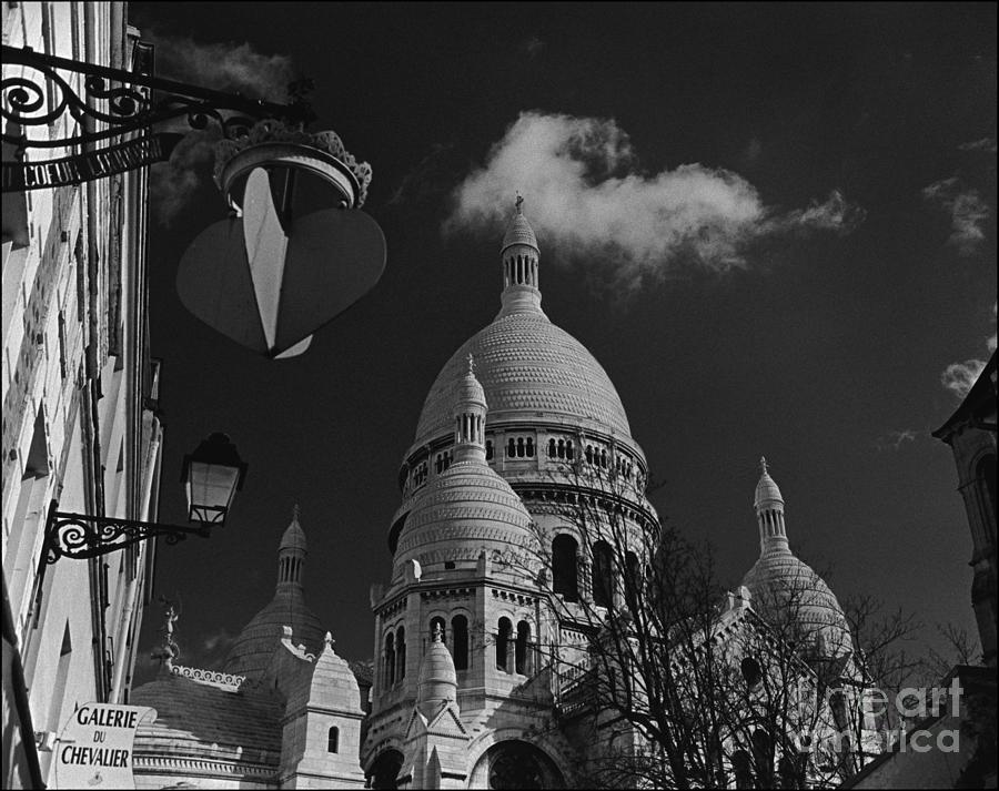 Basilique Du Sacre Coeur Photograph - Sacre Coeur 2 by Aldo Cervato