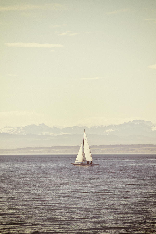 Ship Photograph - Sailing Boat by Joana Kruse