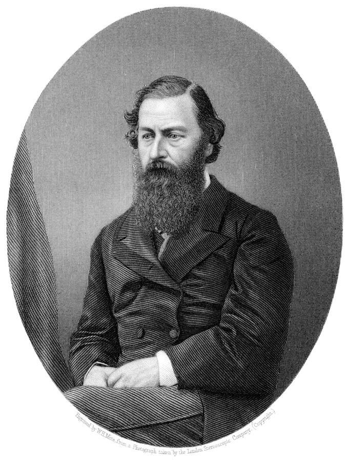 Samuel White Baker Photograph - Samuel Baker, British Explorer by