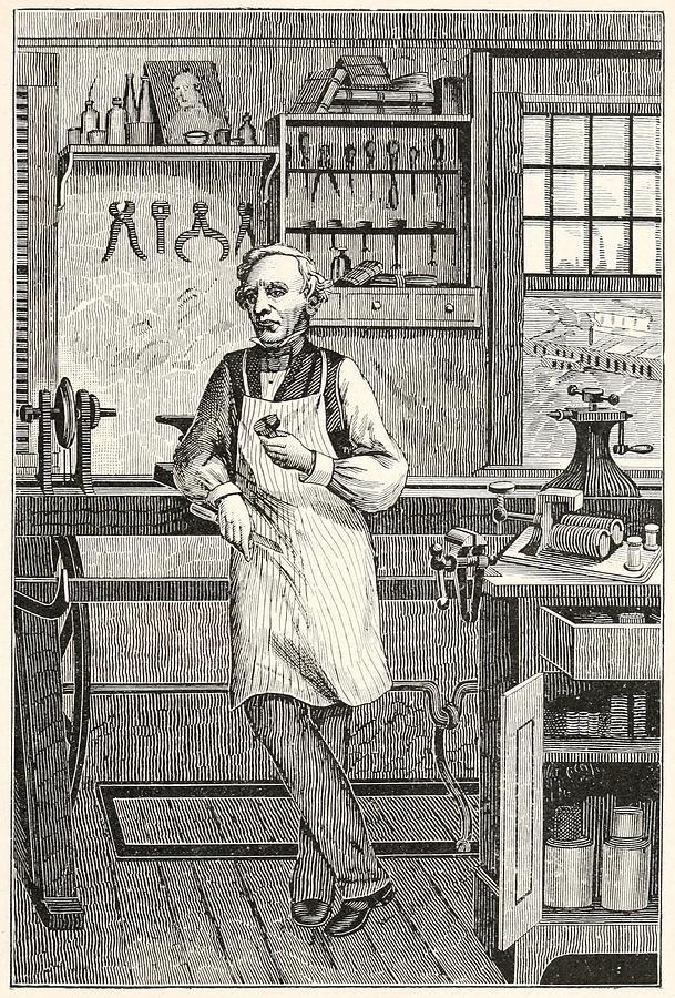 History Photograph - Samuel F. B. Morse 1791-1872, Inventor by Everett