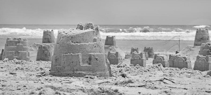 Sandcastle Photograph - Sandcastle  by Betsy Knapp