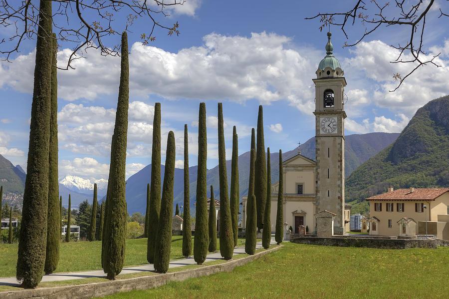 Ticino Photograph - Santabbondio by Joana Kruse