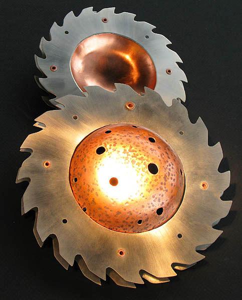 Copper Sculpture - Saturn by Zeina Cook
