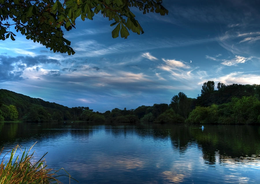 Landscape Photograph - Scarborough Mere by Svetlana Sewell