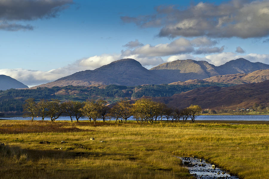 Highlands Photograph - Scottish Landscape View by Gary Eason