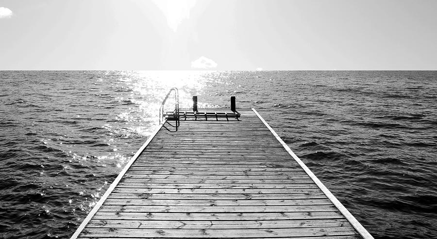 Sea Photograph - Sea Jetty by Smallfort Photography Collection