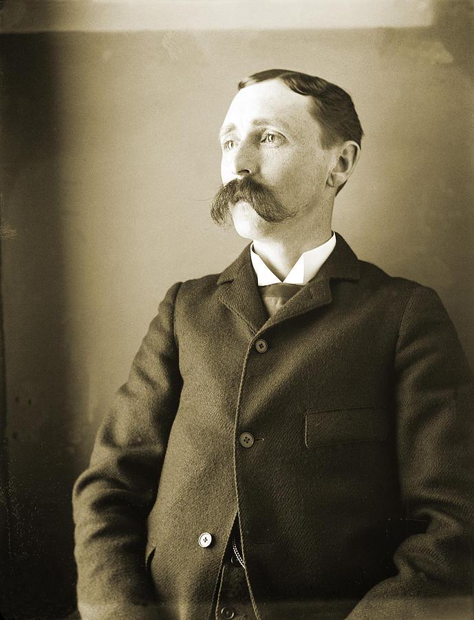 En Walkley Photograph - Self-portrait Of The Artist by Jan W Faul