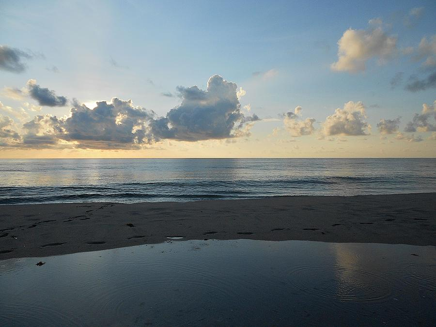 Sunrise Photograph - Serenity by Sheila Silverstein