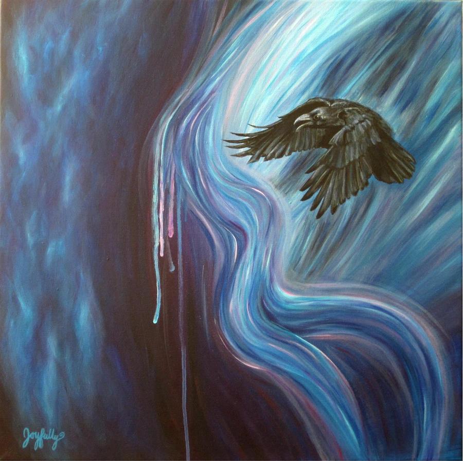 Spiritual Painting - Shadow Dance by Melissa Joyfully