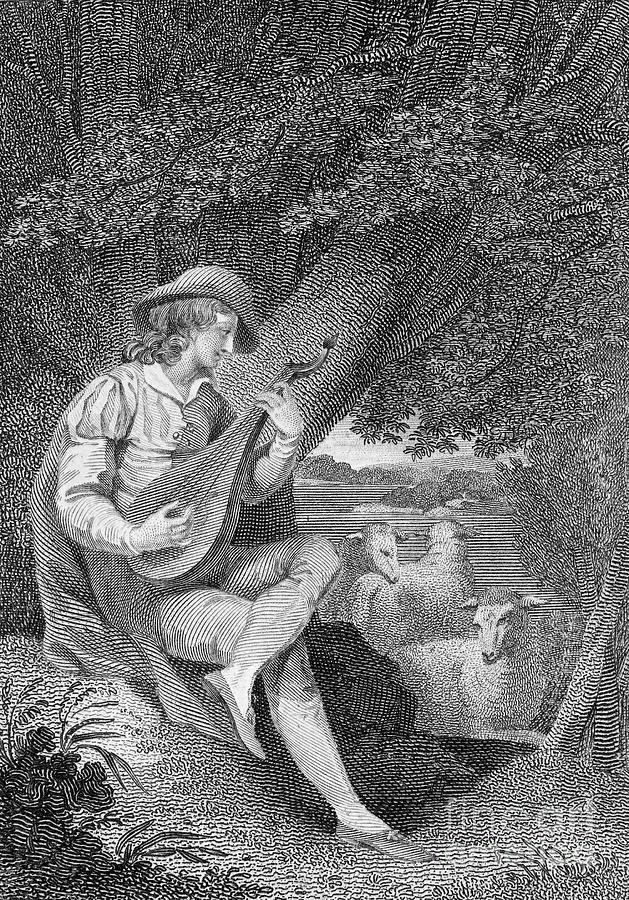 1800 Photograph - Shepherd by Granger