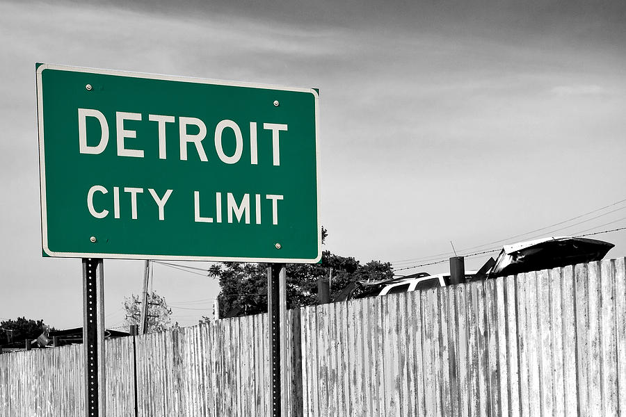 Michigan Photograph - Sign Of The Times by James Marvin Phelps