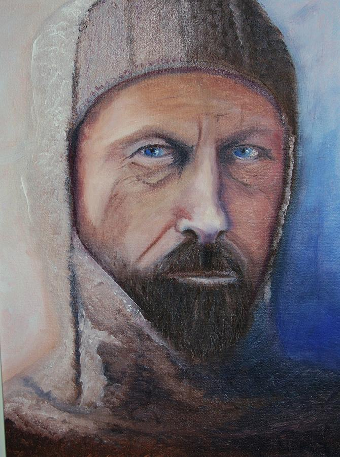 Portrait Painting - Sir Douglas Mawson by Catherine Link